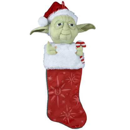 Star Wars Yoda Plush Stocking
