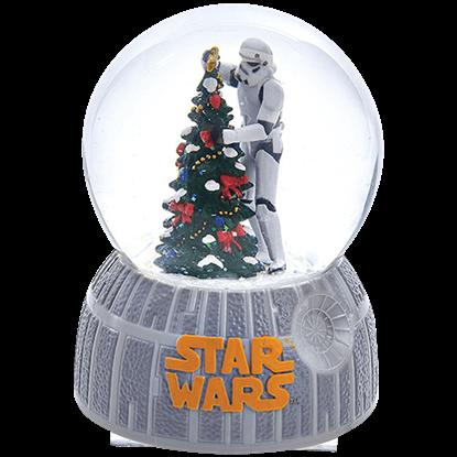 Star Wars Musical Stormtrooper Water Globe