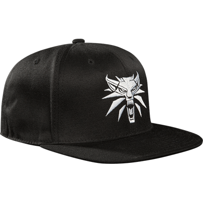 The Witcher 3 Medallion Snapback Hat