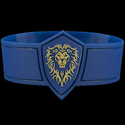 Warcraft Movie Alliance Rubber Bracelet