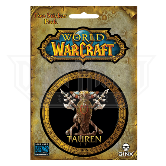 Tauren World of Warcraft Race Stickers