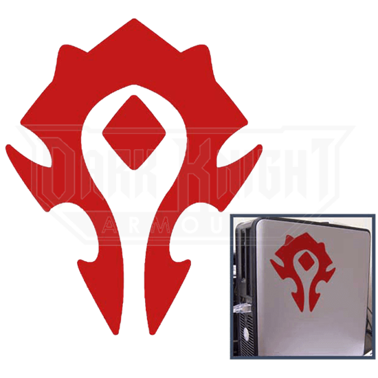 World of Warcraft Horde Cut-Out Sticker