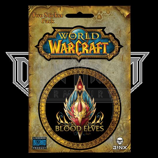 Blood Elf World of Warcraft Race Stickers