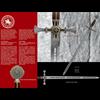 Damascened Templar Knight Sword by Marto