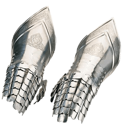 Decorated 16th Century Spanish Gauntlets by Marto