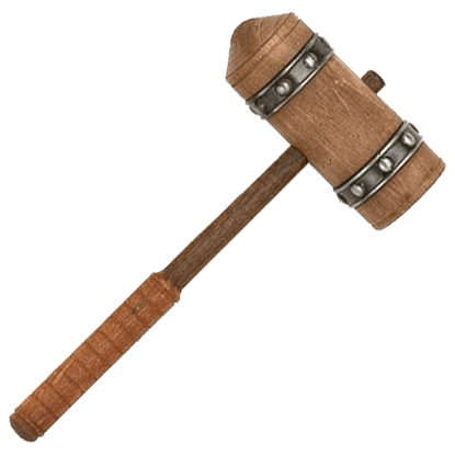 Conan the Barbarian Miniature Hammer of Thorgrim by Marto
