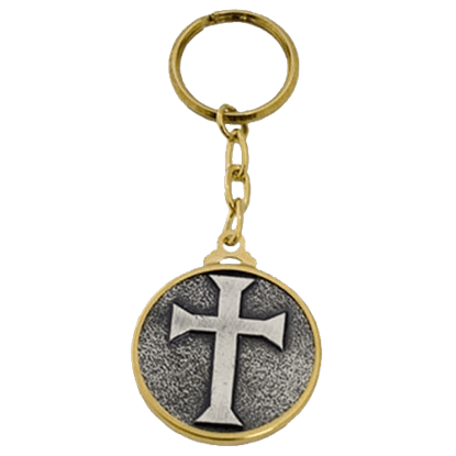 Templar Knight Teutonic Cross Keychain by Marto