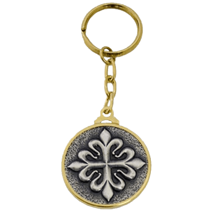 Templar Knight Calatrava Cross Keychain by Marto