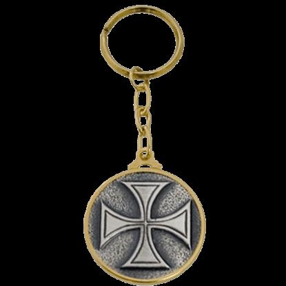 Templar Knight Templar Cross Keychain by Marto