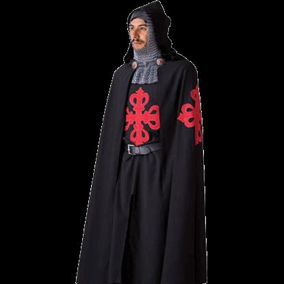 Calatrava Templar Knight Tunic and Cloak by Marto