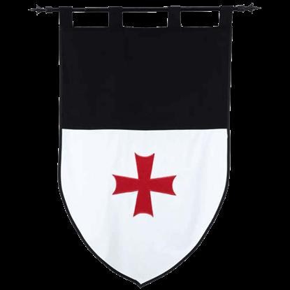 Templar Knight Order of the Templars Banner by Marto