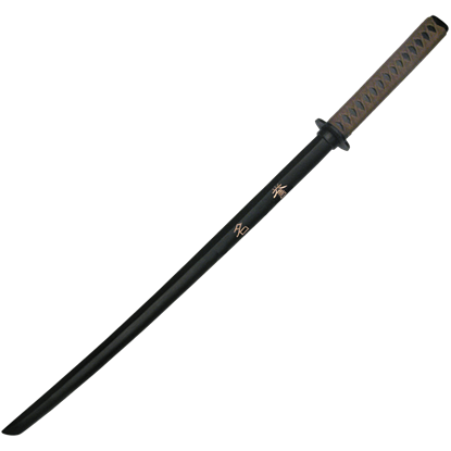 Black Engraved Honor Bokken