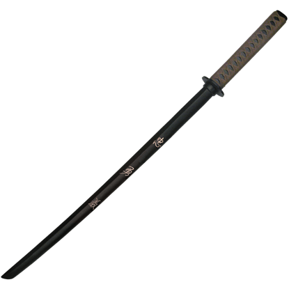 Black Engraved Virtues Bokken