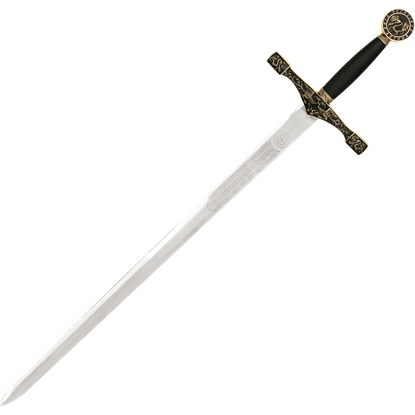 Brass-Hilt Excalibur Sword