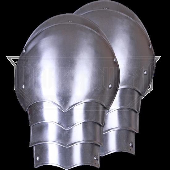Steel Gustav Spaulders