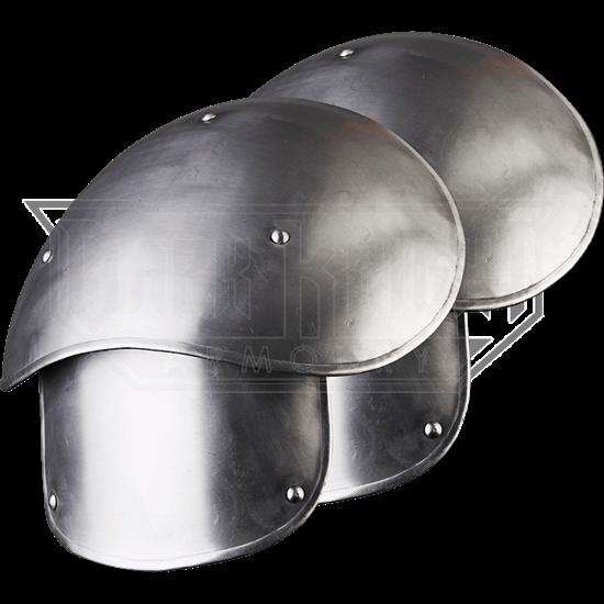 Large Steel Elias Spaulders