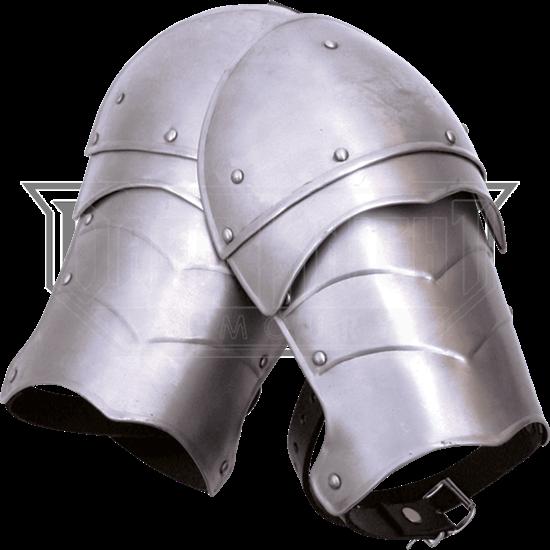 Small Steel Markward Spaulders