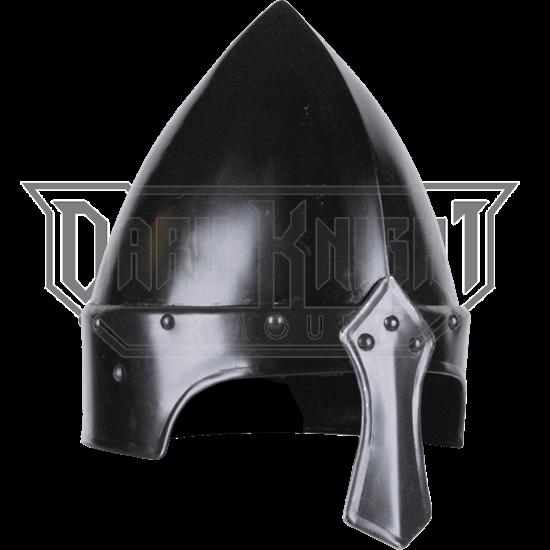 Blackened Eindal Norman Helmet