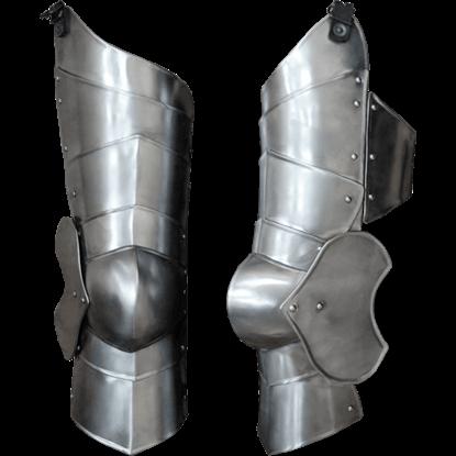 Steel Markward Full Leg Guards