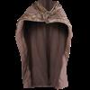 Bjorn Fur Trimmed Cape
