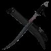 Black Flame Warrior Sword