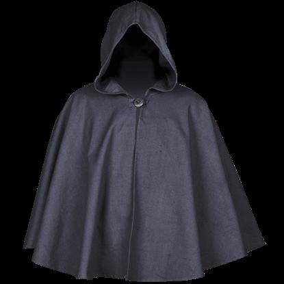 Kim Canvas Short Cloak