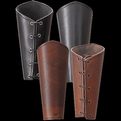 Octavius Leather Bracers