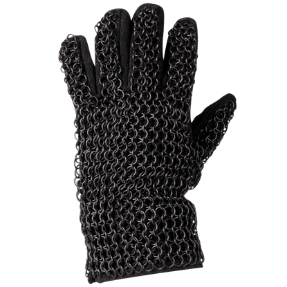 Richard Darkened Chainmail Gauntlets