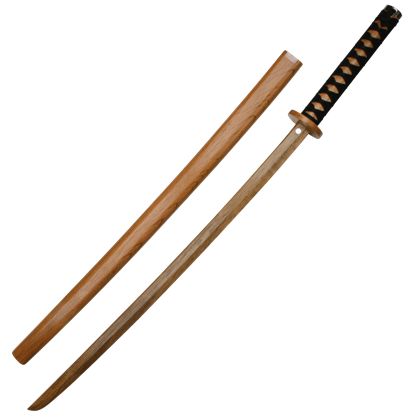 Red Oak Wooden Katana