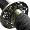 Black Handled Dragon Katana