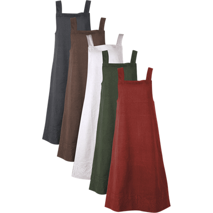 Alva Apron Canvas Dress