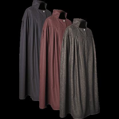 Bron Wool Cloak