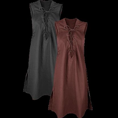 Lenora Premium Canvas Sleeveless Tunic