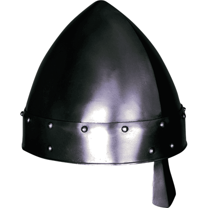 Baldric Darkened Norman Helmet