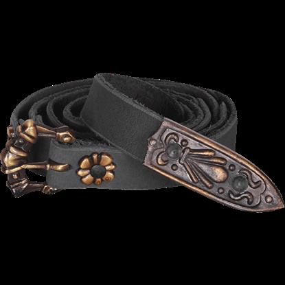 Leon Thin Buckle Belt