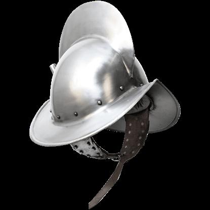 Alberto Morion Steel Helmet