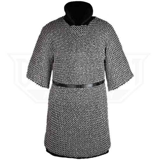 99939d59a81 John Riveted Aluminum Chainmail Hauberk - MY100629 from Leather Armor