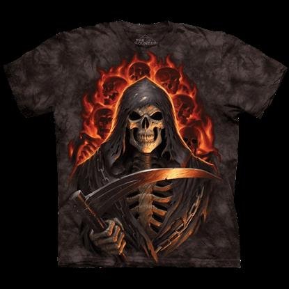 Fire Grim Reaper T-Shirt