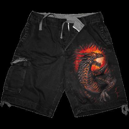 Dragon Furnace Cargo Shorts