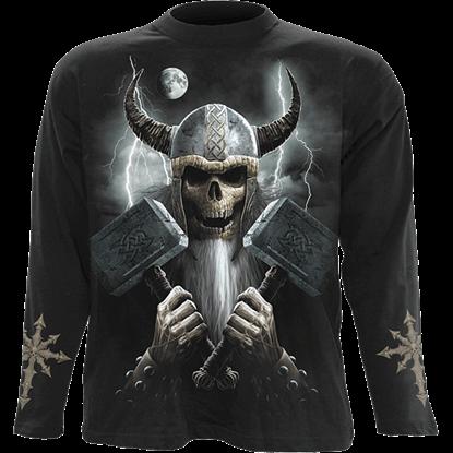 Celtic Warrior Long Sleeve T-Shirt