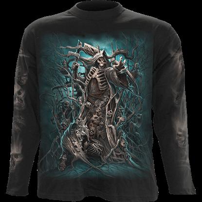 Mens Forest Reaper Long Sleeve T-Shirt