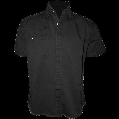 Gothic Short Sleeve Workshirt