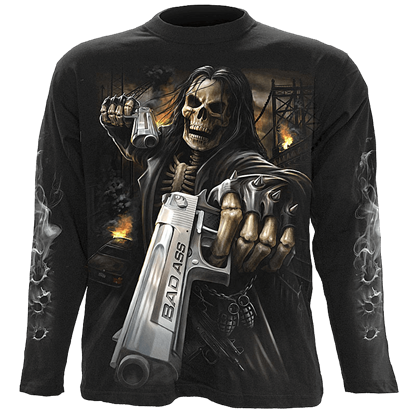 Cold Steel Mens Long Sleeve T-Shirt