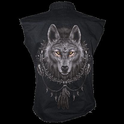 Wolf Dreams Mens Workshirt