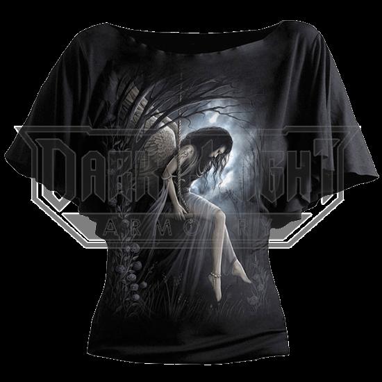 Angel Lament Gothic Drape Womens Shirt