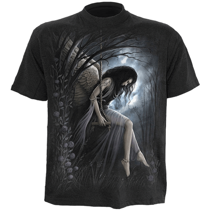 Angel Lament Mens T-Shirt