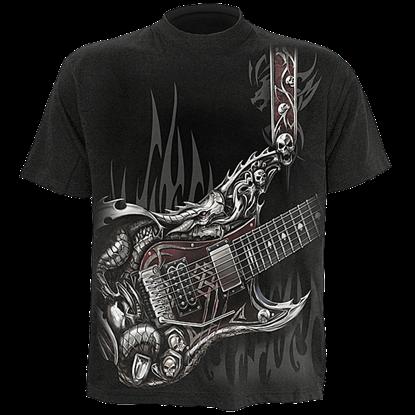 Air Guitar Kids T-Shirt