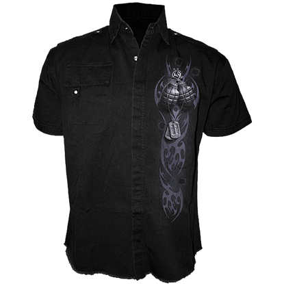 Undead Special Forces Short Sleeve Work Shirt