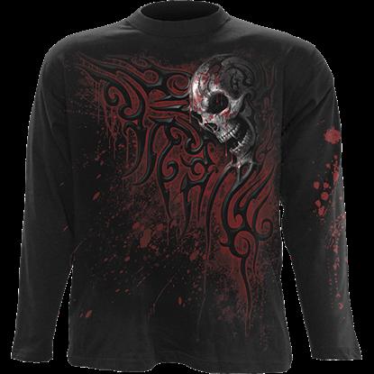 Death Blood Long Sleeve T-Shirt