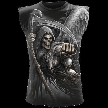 Death Angel Wrap Sleeveless Shirt